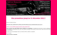 Newsletter de Fabrice Beauvois • Studio Sourisdom du 02/10/2012